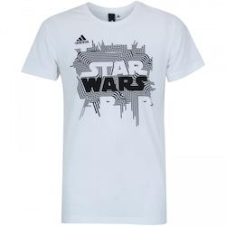 Camiseta adidas Star Wars - Masculina - BRANCO