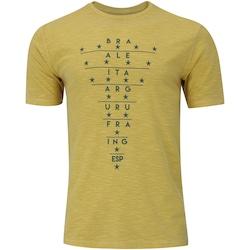 Camiseta Exp Campeoes Adams - AMARELO
