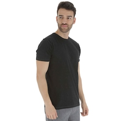 Camiseta Oxer Botone - Masculina - PRETO