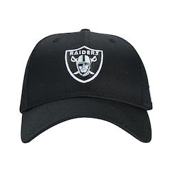 Boné Aba Curva New Era 940 Oakland Raiders - Snapback - Adulto - PRETO
