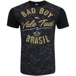 CAMISETA BAD BOY VALE TUDO MILITAR - MASCULINA - PRETO - 92771402