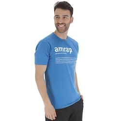 Camiseta Oxer Amrap - Masculina - AZUL