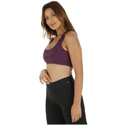 2d4a0aa428fd5d Top Fitness com Proteção Solar UV Oxer Básico Essential High - Adulto -  PRETO