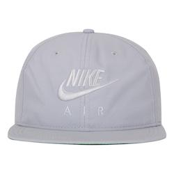 Boné Aba Reta Nike Sportswear Pro Air Strapback Adulto CINZA CLARO