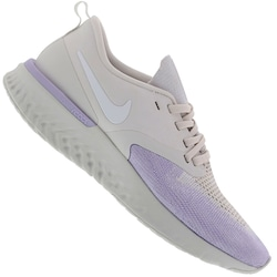 Tênis Nike Odyssey React 2 Flyknit - Feminino - CINZA CLA/ROXO CLA