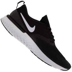 Tênis Nike Odyssey React 2 Flyknit - Masculino - PRETO/BRANCO