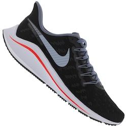 Tênis Nike Air Zoom Vomero 14 - Masculino - PRETO/LARANJA ESC