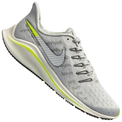 Tênis Nike Air Zoom Vomero 14 - Masculino - CINZA CLA/VERDE CLA