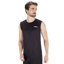 Camiseta Regata adidas D2M 3S 19 Masculina PRETO