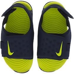 Papete Infantil Nike Sunray Adjust 5 - AZUL ESC/VERDE CLA