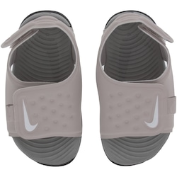 Papete Infantil Nike Sunray Adjust 5 - Roxo Claro/Cinza