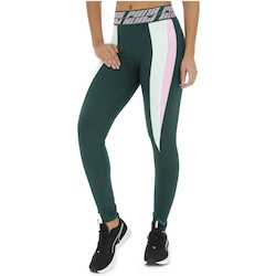 Calça Legging Puma Own It Full Tight - Feminina - VERDE ESC/VERDE CLA