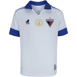 Camisa do Fortaleza II 2019 nº 18 Leão - Infantil - BRANCO