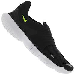 Tênis Nike Free RN Flyknit 3.0 - Masculino - PRETO/VERDE CLA