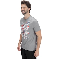 Camiseta Oxer Sporty - Masculina - CINZA