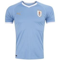 Camisa Uruguai I 2019 Puma - Masculina - AZUL