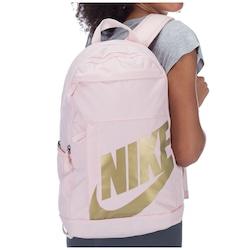 Mochila Nike Elemental 2.0 - Rosa/Ouro