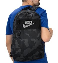 Mochila Nike Elemental 2.0 Camo - PRETO/CINZA