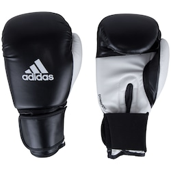 Luvas de Boxe adidas Power 100 SMU Colors - 10 OZ - Adulto - PRETO/BRANCO