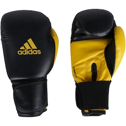 Luvas de Boxe adidas Power 100 SMU Colors - 10 OZ - Adulto - PRETO/AMARELO