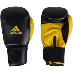 Luvas de Boxe adidas Power 100 SMU Colors - 12 OZ - Adulto - PRETO/AMARELO