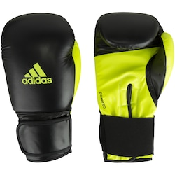 Luvas de Boxe adidas Power 100 SMU Colors - 14 OZ - Adulto - PRETO/AMARELO