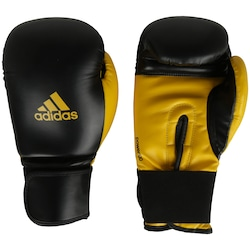 Luvas de Boxe adidas Power 100 SMU Colors - 16 OZ - Adulto - PRETO/AMARELO