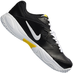 Tênis Nike Court Lite 2 - Masculino - PRETO/AMARELO