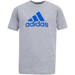Camiseta adidas YB MH BOS T - Infantil - MESCLA