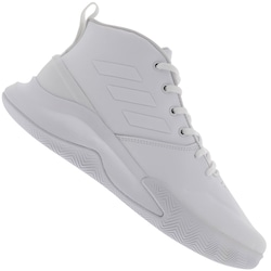 Tênis Cano Alto adidas Own The Game - Masculino - BRANCO