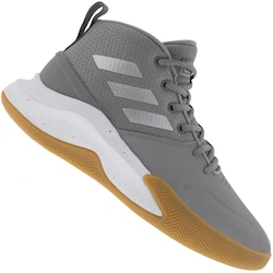 Tênis Cano Alto adidas Own The Game - Masculino - CINZA
