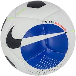 Bola de Futsal Nike Maestro - BRANCO/AZUL