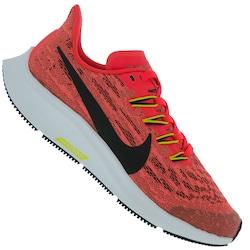 Tênis Nike Air Zoom Pegasus 36 GS - Infantil - Coral/Preto