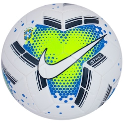 Bola de Futebol de Campo Brasileirão 20 Nike - Branco/Verde Cla