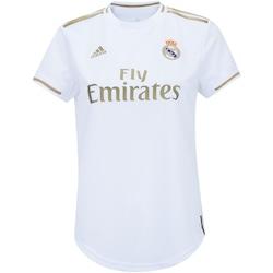 Camisa Real Madrid I 19/20 adidas - Feminina - BRANCO