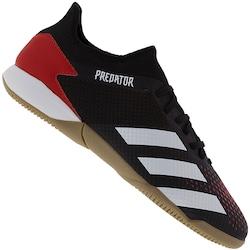 Chuteira Futsal adidas Predator 20.3 Low IN - Adulto - VERMELHO/BRANCO