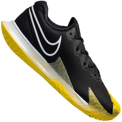 Tênis Nike Air Zoom Vapor Cage 4 HC - Masculino - PRETO/AMARELO