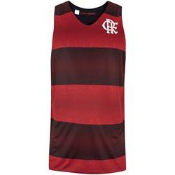 Camiseta Regata do Flamengo Smell Dupla Face - Masculina - PRETO/VERMELHO