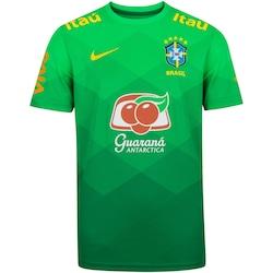 Camisa de Treino da Seleção Brasileira Nike - Juvenil - VERDE
