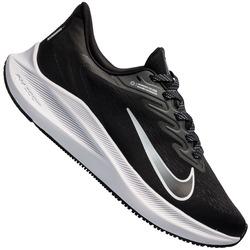 Tênis Nike Air Zoom Winflo 7 - Feminino - PRETO/BRANCO