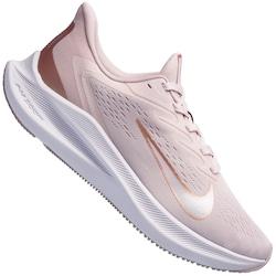 Tênis Nike Air Zoom Winflo 7 - Feminino - ROSA CLARO