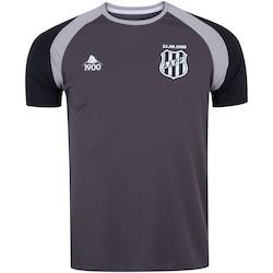 Camisa da Ponte Preta Concentração Comissão Técnica 2020 11.08 - Masculina - CINZA/PRETO