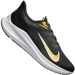 Tênis Nike Zoom Winflo 7 - Masculino - PRETO/AMARELO ESC