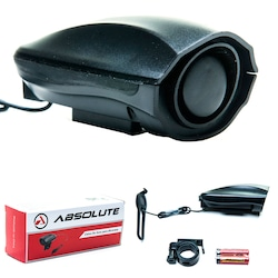 Buzina para Bike Absolute T.Sirene JY- 575J - PRETO