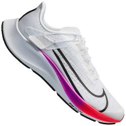 Tenis Nike Air Zoom Pegasus 37 Flyease - BRANCO/ROXO