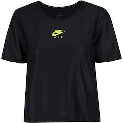 Camiseta Nike Air Top SS - Feminina - PRETO
