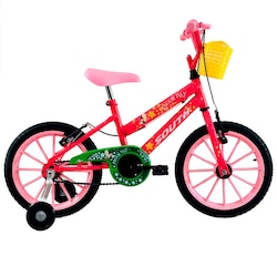 Bicicleta South Bike Star - Aro 16 - Freio V-Brake - Infantil - ROSA