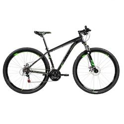 Mountain Bike Caloi 29 - Aro 29 - Freio a Disco Hidráulico - Câmbio Shimano Tourney - CINZA