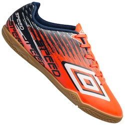 Chuteira Futsal Umbro Speed V In - Adulto - Coral