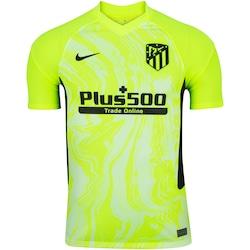 Camisa Atlético de Madrid III 20/21 Nike - Masculina - VERDE CLARO
